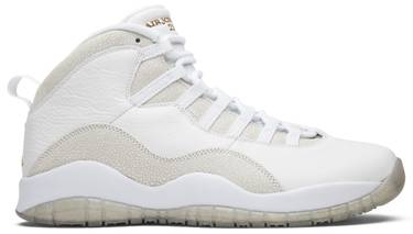finest selection 5c55a 94537 OVO x Air Jordan 10 Retro 'White'