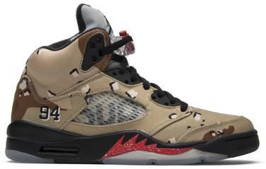 e4425468ba3 Supreme x Air Jordan 5 Retro 'Desert Camo' - Air Jordan - 824371 201 ...