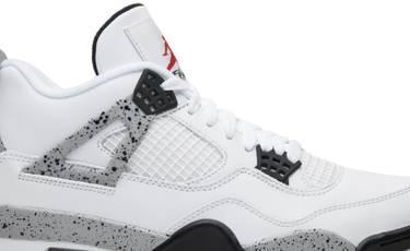a08961dac95d66 Air Jordan 4 Retro OG  White Cement  2016 - Air Jordan - 840606 192 ...