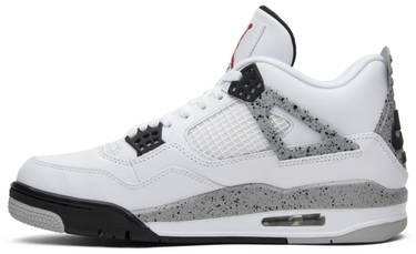 3fe0db98e18 Air Jordan 4 Retro OG 'White Cement' 2016
