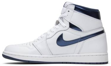 70998981826ebd Air Jordan 1 Retro High OG  Metallic Navy  - Air Jordan - 555088 106 ...