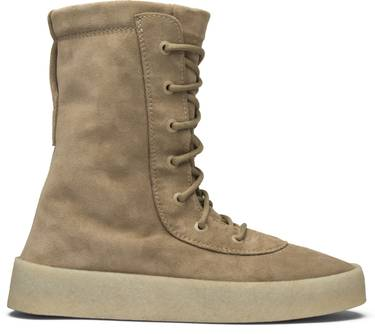 662bf0218a5 Season 2 Crepe Boot  Taupe  - Yeezy - KW1011 004