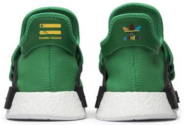 c14fb75f1 Pharrell x NMD Human Race  Green  - adidas - BB0620