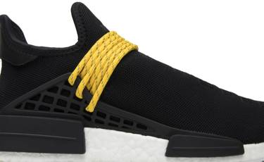detailed look b2751 776c4 Pharrell x NMD Human Race 'Black'
