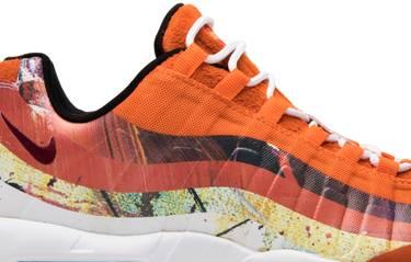 02944e202f Dave White x Size? x Air Max 95 'Fox' - Nike - 872640 600   GOAT