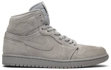 separation shoes d13e9 99bbf Air Jordan 1 Retro High 'Grey Suede'