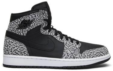 best sneakers 68468 2d322 Air Jordan 1 Retro High 'Black Elephant' - Air Jordan - 839115 013 ...