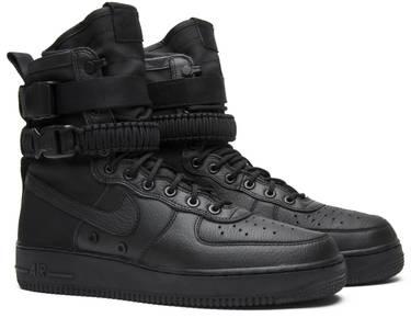 Nike SF Air Force 1 High Triple Black (W)