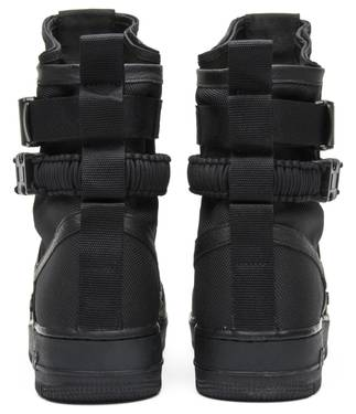 new products 0e248 c9c6c SF Air Force 1  Triple Black . Nike