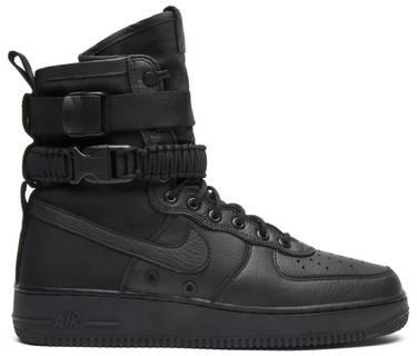 de5cc87759b SF Air Force 1  Triple Black  - Nike - 864024 003