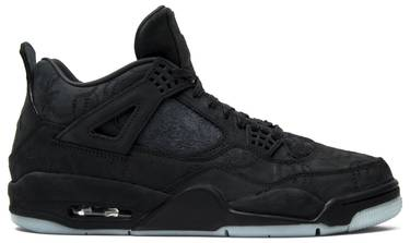 5503a664 KAWS x Air Jordan 4 Retro 'Black' - Air Jordan - 930155 001 | GOAT