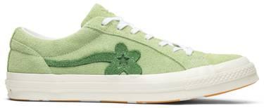 a2e85db9a05c Golf Le Fleur x One Star Ox  Jade Lime  - Converse - 160327C