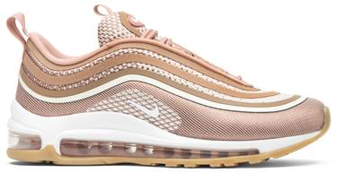 online retailer be8b5 bd502 Wmns Air Max 97 Ultra 17 'Metallic Rose Gold'