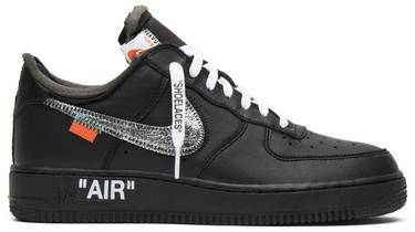 outlet store e577a 58719 OFF-WHITE x MoMA x Air Force 1 07  Black