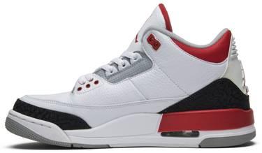 buy popular 85e9e d0af7 Air Jordan 3 Retro 'Fire Red' 2013