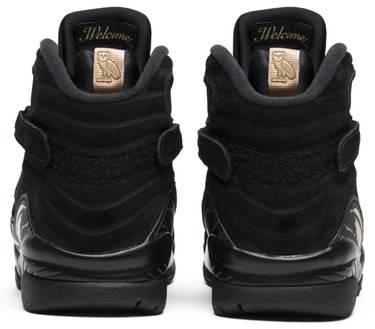 save off 293b3 41a5d OVO x Air Jordan 8 Retro 'Black'