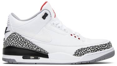 on sale 48b29 c6176 Air Jordan 3 Retro JTH NRG 'White Cement'