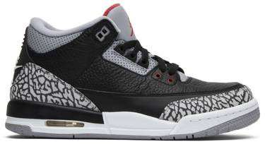 various colors 1b98b 3992a Air Jordan 3 Retro OG BG 'Black Cement' 2018