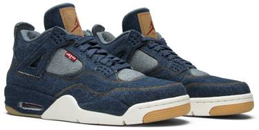 official photos 1e1aa e80d5 Levi's x Air Jordan 4 Retro 'Denim'