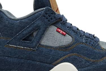 official photos 985e6 e16fd Levi's x Air Jordan 4 Retro 'Denim'