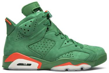 a819eef776f7 Air Jordan 6 Retro NRG  Green Suede Gatorade  - Air Jordan - AJ5986 ...
