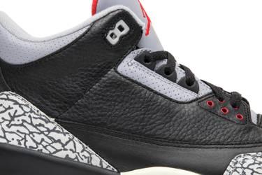 on sale 5a026 27fe3 Air Jordan 3 Retro  Black Cement  2001
