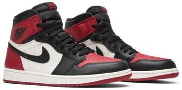 online retailer 4ac03 4d404 Air Jordan 1 Retro High OG  Bred Toe