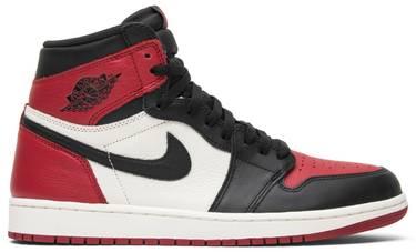 a9f0be93388 Air Jordan 1 Retro High OG 'Bred Toe' - Air Jordan - 555088 610 | GOAT