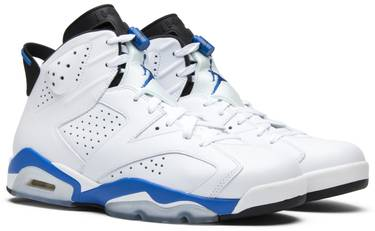 competitive price 682bf 714b1 Air Jordan 6 Retro  Sport Blue  2014