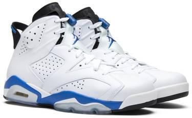 competitive price 056b5 a660e Air Jordan 6 Retro  Sport Blue  2014