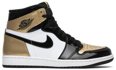 f4f32585035 Air Jordan 1 Retro High OG NRG 'Gold Toe' - Air Jordan - 861428 007 ...