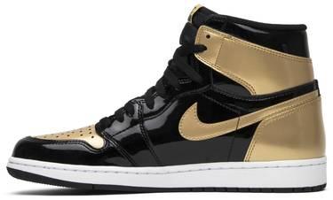 quality design 75cb2 16213 Air Jordan 1 Retro High OG NRG 'Gold Toe'