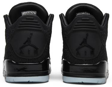san francisco 866ed 77d31 Air Jordan 3 Retro Flyknit 'Black'