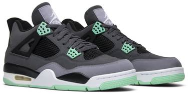 buy popular 0311f b396d Air Jordan 4 Retro 'Green Glow'