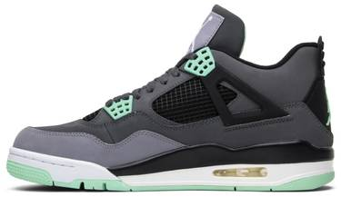 1a1258650b5e Air Jordan 4 Retro  Green Glow  - Air Jordan - 308497 033