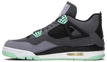 292565246f4 Air Jordan 4 Retro 'Green Glow' - Air Jordan - 308497 033   GOAT