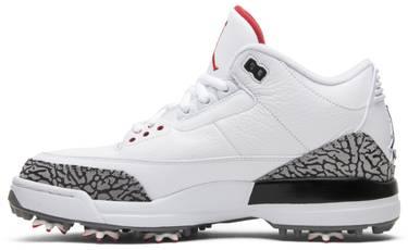 Air Jordan 3 Golf  White Cement  - Air Jordan - AJ3783 100  e9c3af4f5