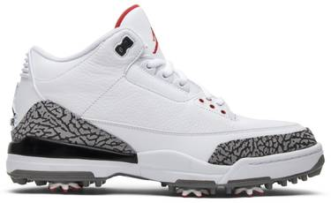 182124205b5 Air Jordan 3 Golf 'White Cement' - Air Jordan - AJ3783 100   GOAT