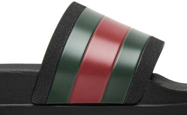 4a2d97a70 Gucci Web Slide  Black  - Gucci - 429469 GIB10 1098