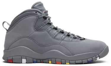 online store 81ce9 65bc5 Air Jordan 10 Retro  Cool Grey  2018