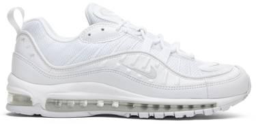 d371a0ee66 Air Max 98 'White Platinum' - Nike - 640744 106 | GOAT
