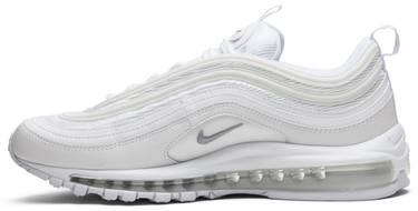 1570362b8fc Air Max 97. The Nike Air Max 97  Triple White  ...