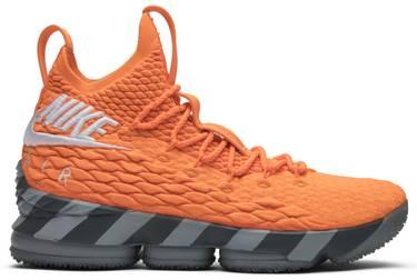 premium selection 6f2df 703b0 LeBron 15 'Orange Box' PE