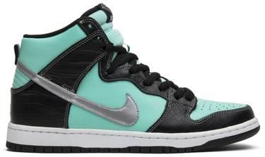 05a4a7d4a008 Diamond Supply Co. x Dunk High Premium SB  Tiffany  - Nike - 653599 ...