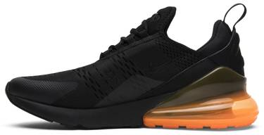separation shoes 14901 c3028 Air Max 270 'Black Orange'