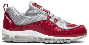 e64d24d3c45 Supreme x Air Max 98  Red  - Nike - 844694 600