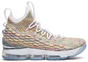 low priced 95730 f56c6 LeBron 15 'Fruity Pebbles'