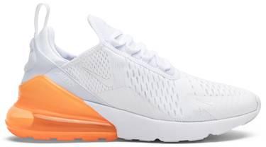 buy popular 4d669 16da9 Air Max 270 'White Total Orange'