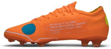 premium selection fe426 fa6ae OFF-WHITE x Mercurial Vapor 360 'Orange'