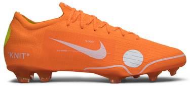 a0704a6b3df OFF-WHITE x Mercurial Vapor 360 'Orange' - Nike - AO1256 810 | GOAT